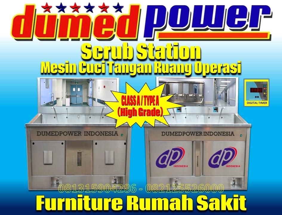 Class-A-Scrub-Station-Type-A-Scrub-Station-merek-DUMEDPOWER-Standar-PERMENKES-RI