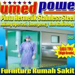"""Pintu Hermetik Plat Baja & Stainless Steel """"DUMEDPOWER"""""""