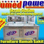 "Scrub Station 2 Person Model Manual & Otomatis | DSR-304-2IN1 ""DUMEDPOWER"""