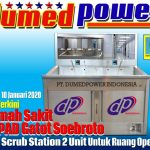 Rumah Sakit RSPAD Gatot Soebroto Jakarta Beli Scrub Station dari PT. DUMEDPOWER INDONESIA